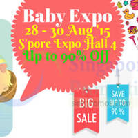 Read more about Baby Expo Fair @ Singapore Expo 28 - 30 Aug 2015