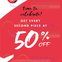 Banana Republic 50% Off Every Second Piece 1 - 10 Aug 2015