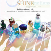 Read more about Robinsons Beauty Fair 26 Aug - 13 Sep 2015