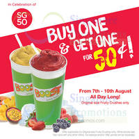 Read more about Boost Juice Bars 50 Cent 2nd Fruity Crush 7 - 10 Aug 2015