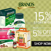 Brand's Health Drinks 20% OFF 1-Day Coupon Code 4 Aug 2015