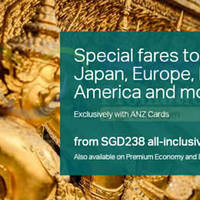 Read more about Cathay Pacific Special Fares For ANZ Cardmembers 15 Aug - 8 Sep 2015