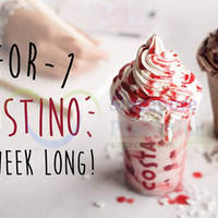 Read more about Costa Coffee 1-for-1 Frostinos (2pm to 7pm) 17 - 21 Aug 2015