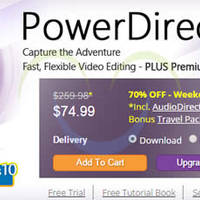Read more about CyberLink 70% OFF PowerDirector 13 Video Editing Tools Software 6 - 11 Aug 2015