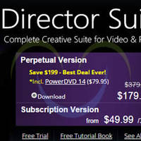 CyberLink 50% OFF Director Suite 3 Video / Audio / Photo Editing Software Suite 30 Aug - 8 Sep 2015