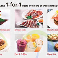 Read more about DBS/POSB 1-for-1 Dining Deals 21 Aug - 31 Oct 2015