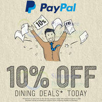 Read more about Deal.com.sg 10% OFF Dining Deals 1-Day Promo 21 Aug 2015