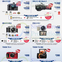Olympus Digital Cameras & Voice Recorders Offers 3 - 31 Aug 2015