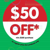 Early Learning Centre Spend $250 & Get $50 Off 3 - 10 Aug 2015