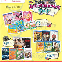 Read more about Fairprice Catalogue Super Saver, DVDs & Blu-Ray, Toyogo, Electronics, Groceries & More Offers 20 Aug - 3 Sep 2015