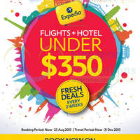 Read more about Expedia SG50 Travel Deals 14 - 25 Aug 2015