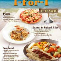 Fish & Co. 1-for-1 Main Course Promo @ Selected Outlets 5 - 31 Aug 2015