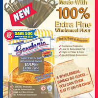 Read more about Gardenia New Super Fine & Soft Wholemeal Bread 4 Aug 2015