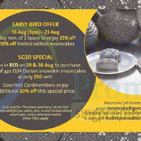Read more about Goodwood Park Hotel Mooncake Offers 16 Aug - 27 Sep 2015
