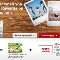 Read more about HSBC Revolution Card Apply & Get FREE Starbucks Cards (worth up to $120) 18 Aug - 31 Oct 2015