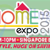 Read more about Home Expo 2015 @ Singapore Expo 22 - 30 Aug 2015