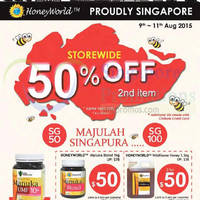 Read more about Honeyworld 50% Off Second Item 9 - 11 Aug 2015