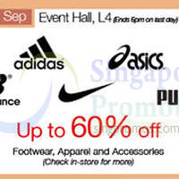 Read more about Isetan Adidas, Asics, New Balance, Nike, Puma Promotion @ Scotts 28 Aug - 3 Sep 2015