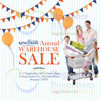 Read more about King Koil Annual Warehouse Sale 4 - 7 Sep 2015