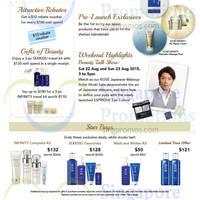 Read more about Kose Beauty Bazaar @ Takashimaya 25 - 26 Aug 2015