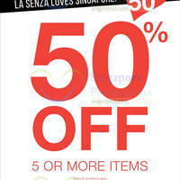Read more about La Senza Buy 5 Items & Get 50% OFF SG50 Promo 8 - 10 Aug 2015