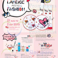 Read more about Laneige Meets Fashion Event @ Takashimaya 27 Aug - 2 Sep 2015