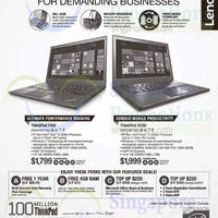 Lenovo ThinkPad Business Notebook Offers 5 Aug 2015