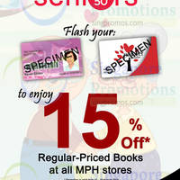Read more about MPH Bookstores 15% Off Storewide for Seniors 14 - 16 Aug 2015