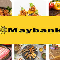 Maybank 1-for-1 Dining Treats & More 3 - 31 Aug 2015