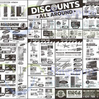 Read more about Mega Discount Store TVs, Washers, Hobs & Other Appliances Offers 15 Aug 2015