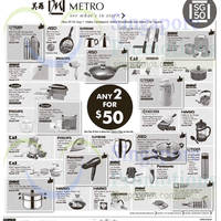 Read more about Metro $50 For Any Two Selected Items 7 - 24 Aug 2015
