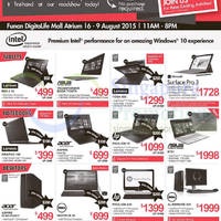 Read more about Newstead Notebooks, Desktop PCs & More SG50 Roadshow @ Funan DigitaLife Mall 7 - 9 Aug 2015