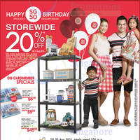 Read more about OG 20% OFF Storewide Promo 6 - 10 Aug 2015