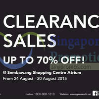 Read more about Ogawa Clearance Sales 27 - 30 Aug 2015
