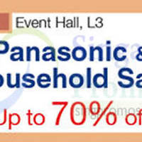 Read more about Panasonic Household Sale @ Nex 19 - 31 Aug 2015