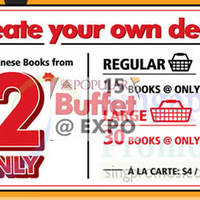 Read more about Popular Books Buffet @ Expo 3 - 6 Sep 2015