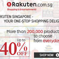 Read more about Rakuten Singapore 10% OFF (NO Min Spend) Coupon Code 15 - 16 Aug 2015