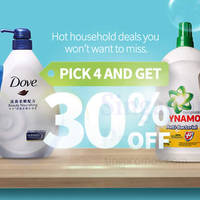 Read more about Redmart 30% Off Household Products Promotion 25 - 31 Aug 2015