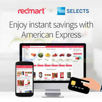 Redmart 6% to 12% off For American Express Cardmembers 28 Aug 2015 - 29 Feb 2016