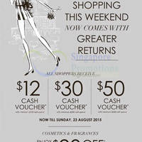 Read more about Robinsons Spend $120 & Get Up To $50 Cash Voucher 16 - 23 Aug 2015