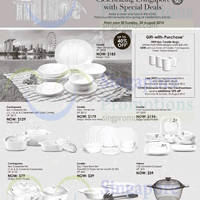 Read more about Robinsons Corelle, Corningware & Visions Kitchenware Offers 7 - 30 Aug 2015