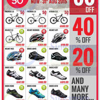 Read more about Rodalink Bicycle Store Bicycles & Accessories Offers 16 - 31 Aug 2015
