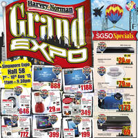 Read more about Harvey Norman Grand Expo @ Singapore Expo 7 - 10 Aug 2015