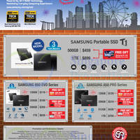 Read more about Samsung SSDs 850 EVO & PRO Series Promo Offers 16 - 31 Aug 2015