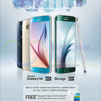 Read more about Samsung Galaxy S6 Free Tablet Promotion (With Telco Contract) 1 Aug 2015