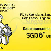 Read more about Scoot fr $6 2hr Promo Air Fares (7am - 9am) 25 Aug 2015