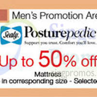 Read more about Sealy Posturepedic Mattress Promo @ Parkway Parade 20 - 31 Aug 2015