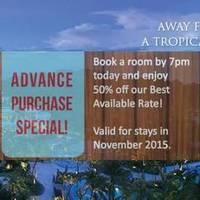 Read more about Shangri-La's Rasa Sentosa Resort & Spa 50% OFF Hotel (till 7pm) Promo 25 Aug 2015