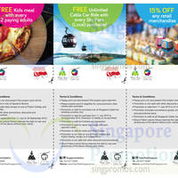 Read more about Singapore Cable Car Discount Coupons 1 Aug - 30 Sep 2015