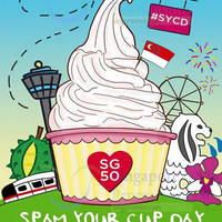 Sogurt $5 Spam-Your-Cup-Day (12pm to 5pm) 6 Aug 2015